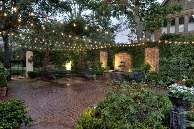 brick, wall fountain   Courtyard fountains, Backyard on Backyard Brick Wall Ideas id=71827