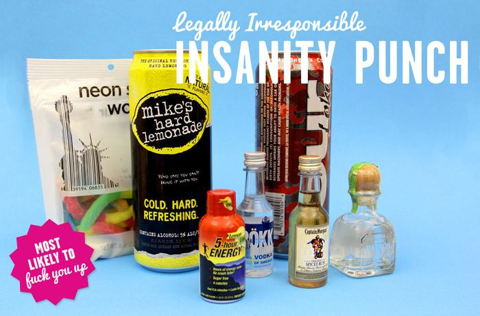 eBaum's World and BuzzFeed present: *Bodega Cocktails* The name of the game is to concoct the most original and unique mixed drinks by combining items purchased only at a bodega or liquor store.