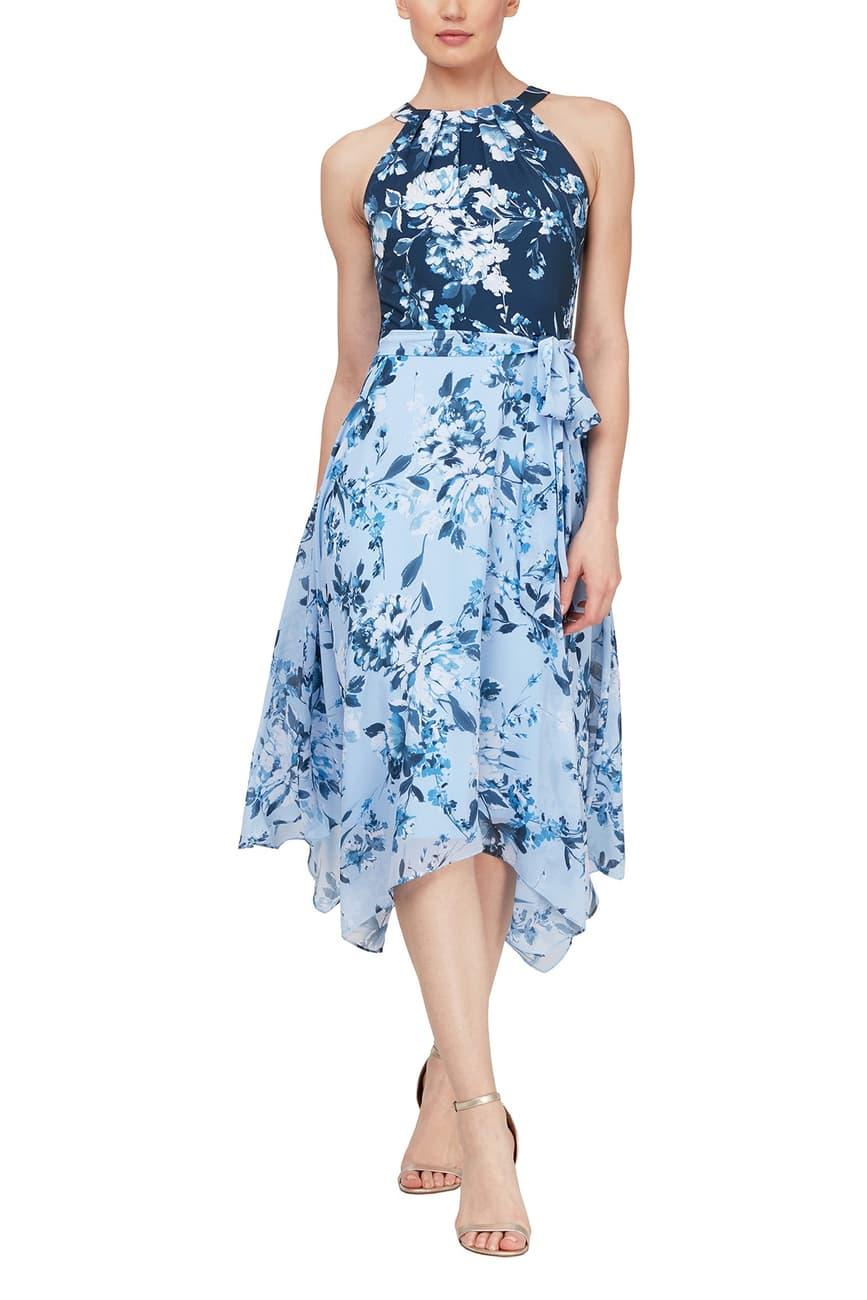 Slny Floral Colorblock Midi Dress Nordstrom Rack In 2021 Petite Midi Dress Dresses Nordstrom Dresses [ 1300 x 867 Pixel ]