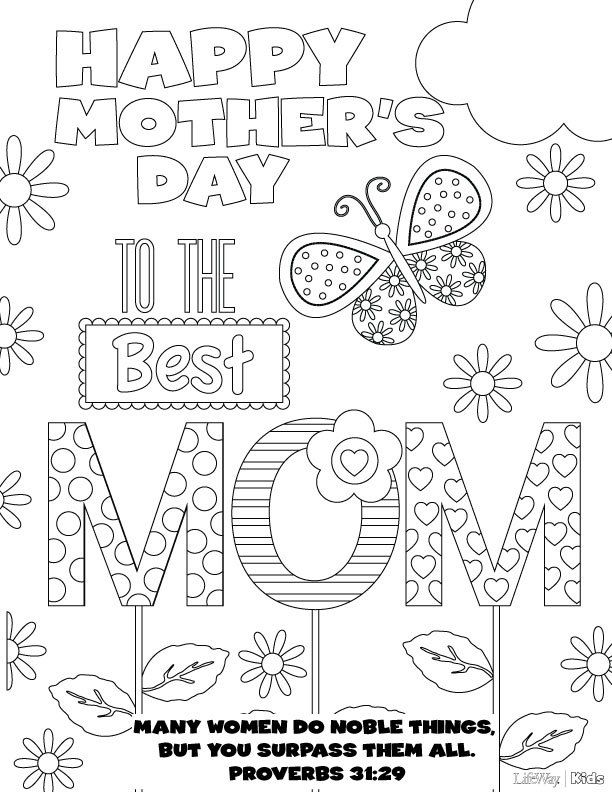 20 Beautiful Free Mothers Day Printables Free and Sunday school