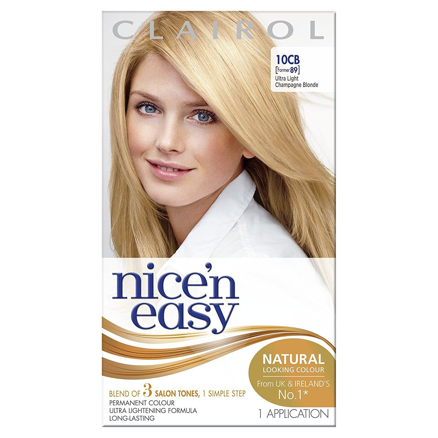 Clairol Nice N Easy Permanent Hair Colour 89 Natural Ultra Light