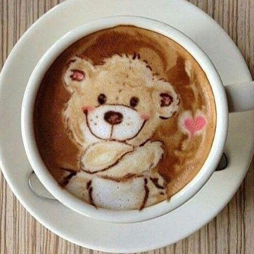 Adorable cup of coffee that just HAVE to make you smile...
