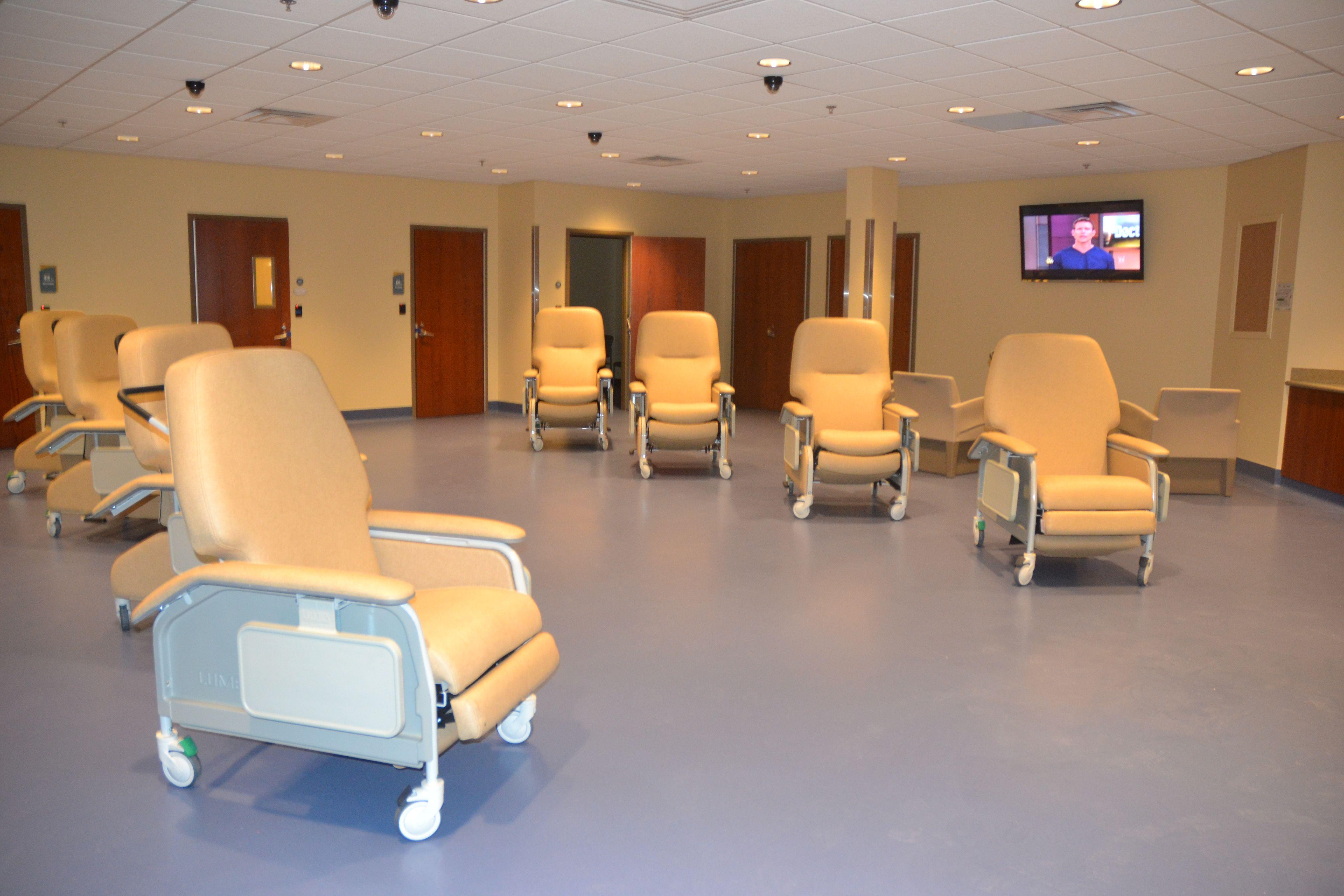 A look into CrisisCare Center's respite area. Home decor