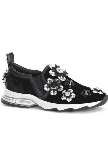 82fcf7bf42b FENDI  Flowerland Ffast  Slip-On Sneaker (Women).  fendi  shoes ...