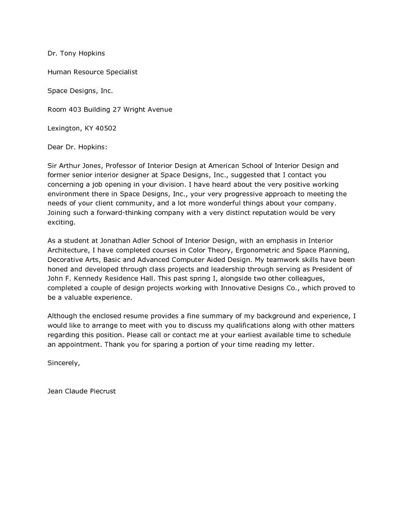 30 Cover Letter For Internship Interior Design Cover Letter Cover Letter For Internship Design Jobs