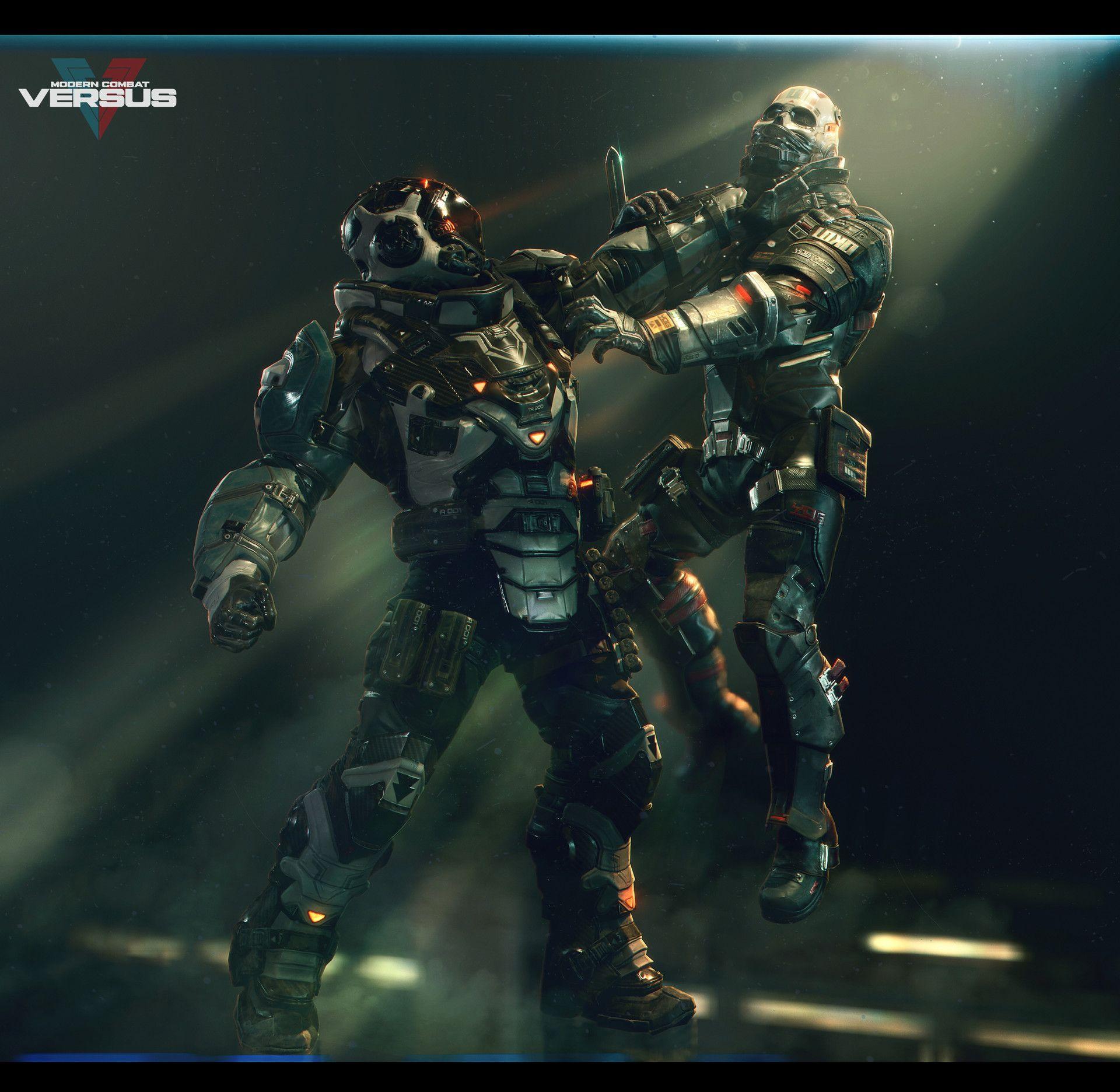 Modern Combat Versus Character Team Art Dump Scene Design Cool Robots Concept Art Characters
