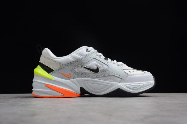 sneakers for cheap 5542f dc370 2018 Nike M2K Tekno Pure Platinum Black-Sail White AV4789-004-5