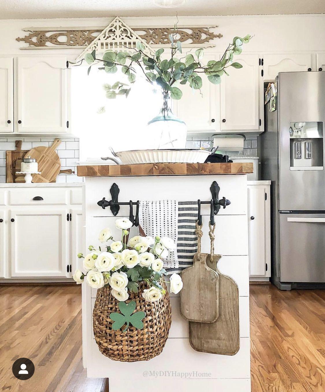 Bobby Lobby Towel Bar With Hooks Kitchen Island Decor Home Decor Kitchen Farmhouse Kitchen Decor