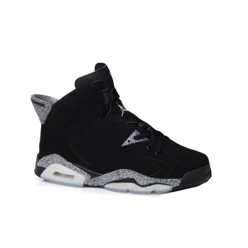 Air Jordan 6(VI) Charcoal Black Stria