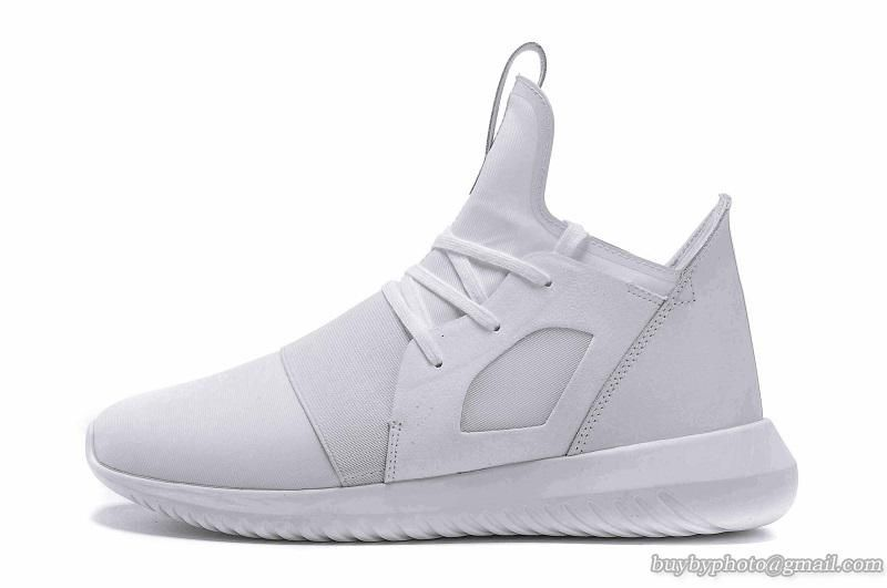 Men's Adidas 2016 Tubular Runner Shoes Spring/Summer White #cheapshoes # sneakers #runningshoes
