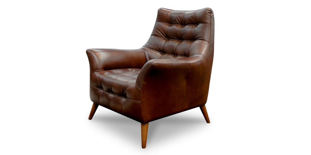 Oxford Lounge Chair From Hunter Furniture Exquisite Leather