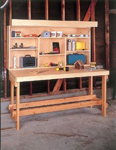 17 best images about garage on pinterest garage workbench woodworking plans and folding workbench - Workbench Design Ideas