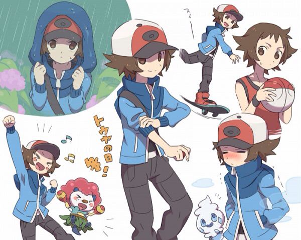 Pokémon Trainer Hilbert | Pokémon | Pinterest | Pokémon ...