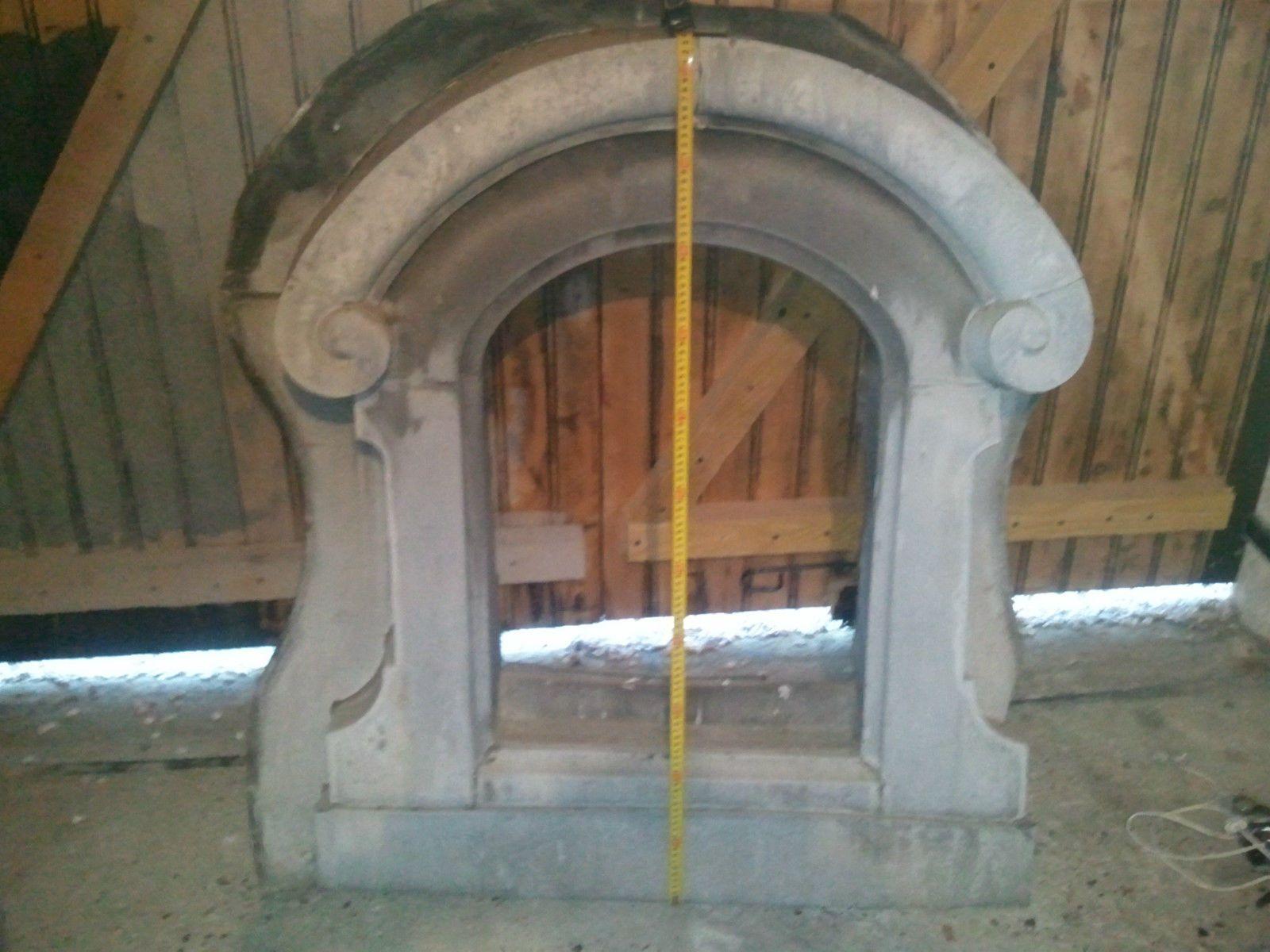 oeil de boeuf en zinc ancien in art antiquit s architecture mat riaux autres ebay zinc. Black Bedroom Furniture Sets. Home Design Ideas