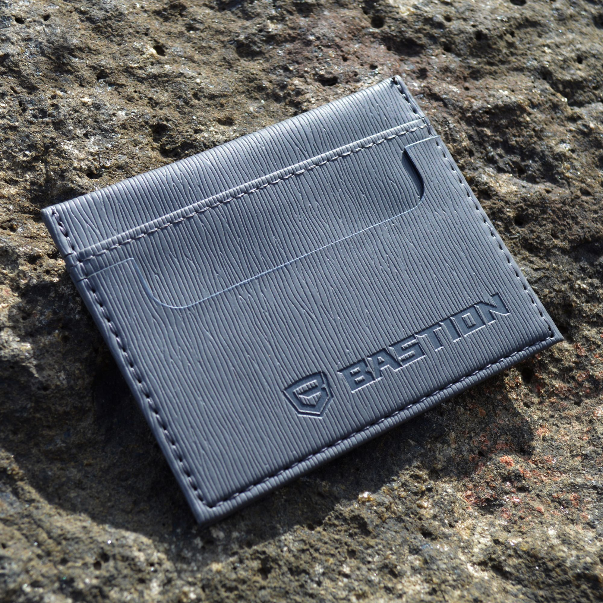 Bastion minimalist wallet will keep your cards and cash