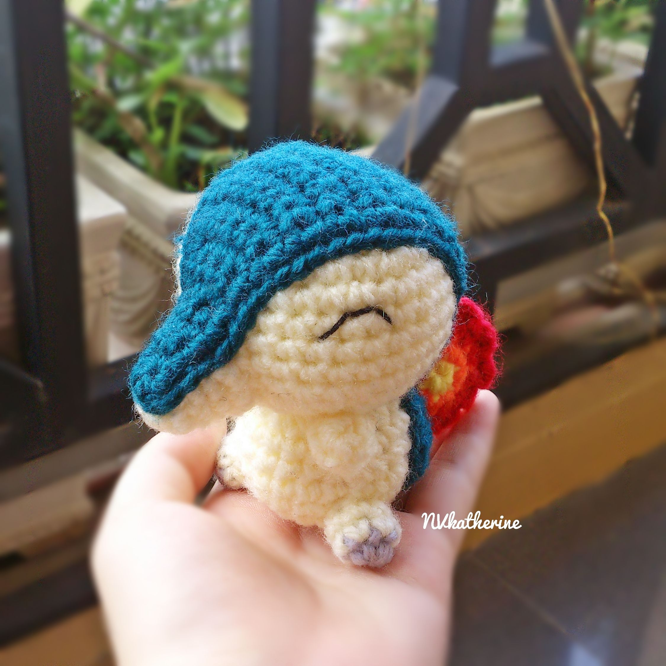 Chibi Cyndaquil Made-to-order Crochet Amigurumi, Pokemon plush toy ...