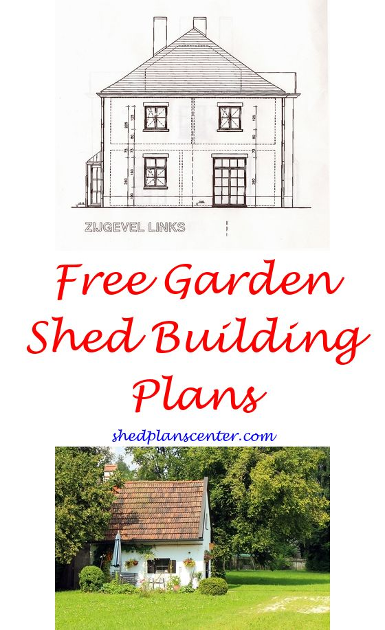 Leaning Shed Plans – Free Garden Shed Plans 10X12