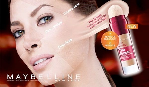 This Maybelline Advertisement Appeals To The Similar Perceptual Organization Presented In Picture Illustrates Products Ability
