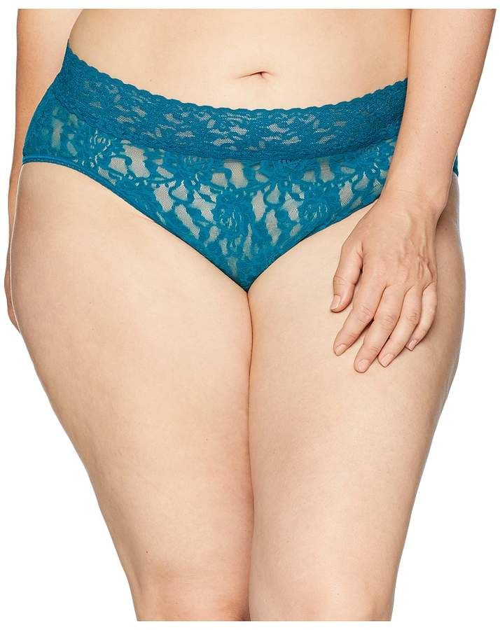 af54b99502c7 Hanky Panky Plus Size Signature Lace French Brief Women's Underwear ...