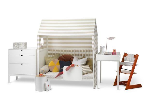 scandinavian nursery furniture. Seamlessly Transform Baby Gear Into Big Kid Furniture With Stokke Home\u0027s New Launch | California Home Scandinavian Nursery A