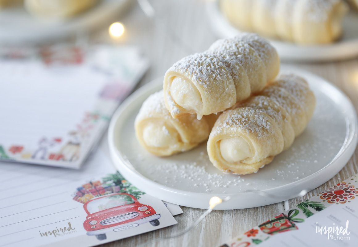 This classic recipe for Cream Horn Cookies (also know as Lady Locks) will make t... #best Holiday Cookies #Classic #classic Holiday Cookies #Cookies #Cream #creative Holiday Cookies #cute Holiday Cookies #fancy Holiday Cookies #festive Holiday Cookies #fun Holiday Cookies #german Holiday Cookies #Holiday Cookies bars #Holiday Cookies box #Holiday Cookies cake mix #Holiday Cookies chocolate #Holiday Cookies christmas #Holiday Cookies decorated #Holiday Cookies decoration #Holiday Cookies easy #Ho