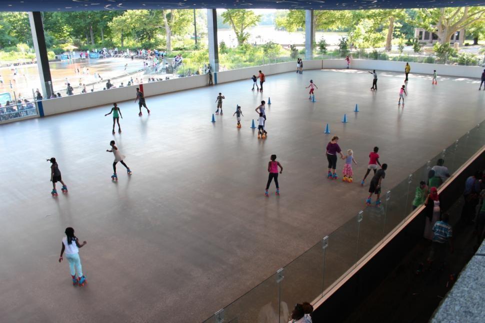 Lola Stars Dreamland Roller Rink Revived In Prospect Park With - Skate court flooring