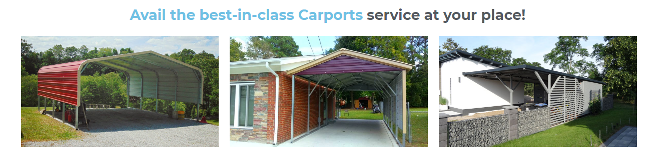 Available The Best In Class Carports Service At Your Place Carport Designs Roof Repair Metal Buildings