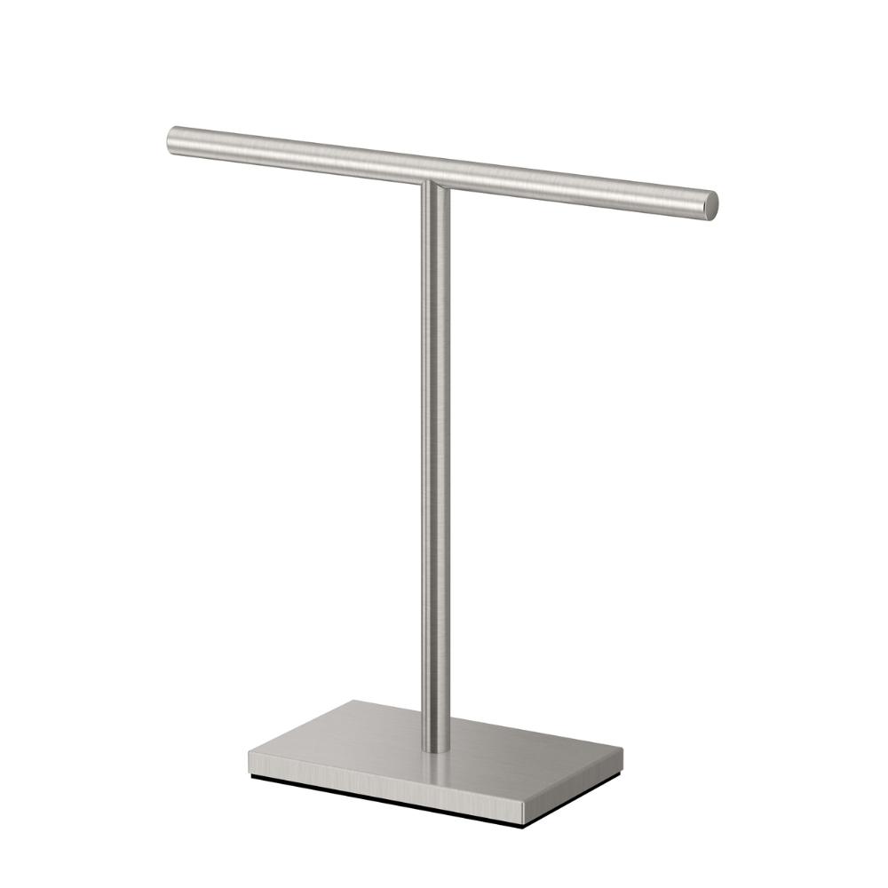 Flagstaff Countertop Towel Holder But Is It Tall Enough To Hold A Regular Hand Towel Or Only Fingertip Towels Bathroom Towel Bar Countertops Towel