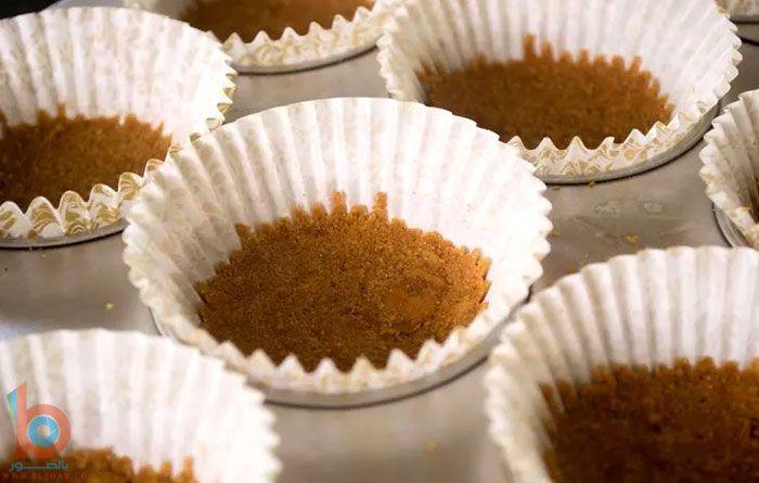 ميني تشيز كيك الاوريو 2 Food Breakfast Muffin