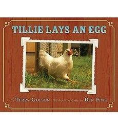 Tillie Lays an Egg by Terry Golson.  Look carefully.  Can you find Tillie's eggs?