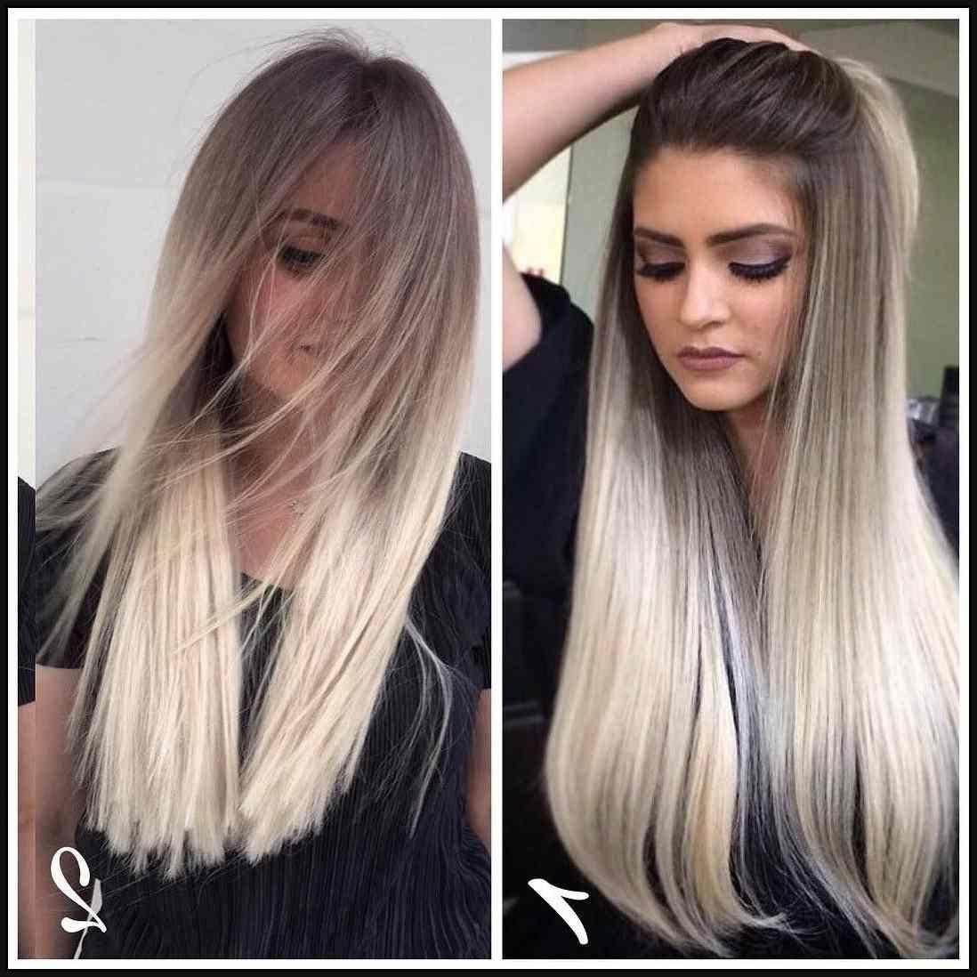 attraktivste lange blonde frisuren luxuriös und feminin