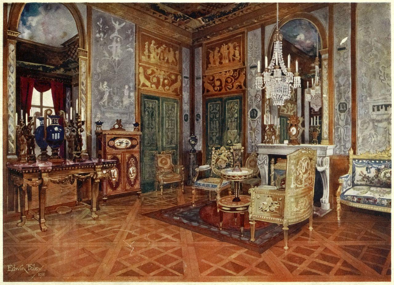 Marie Antoinette Inspired Bedroom The Salon De Musique Of Marie Antoinette Inside The Chateau De