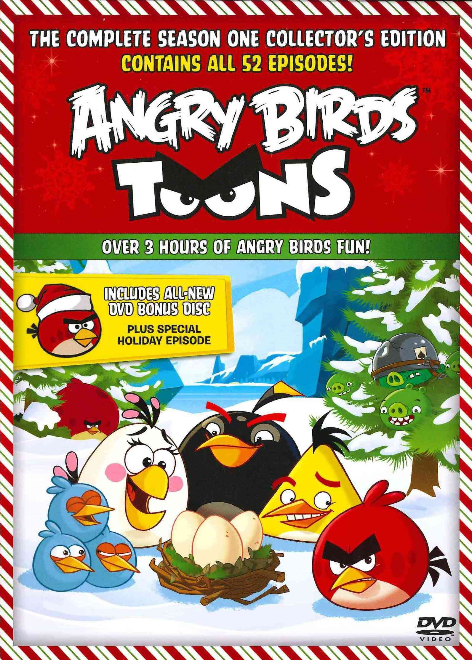 Angry Birds Toons The First Season Vol 1 2 Angry Birds