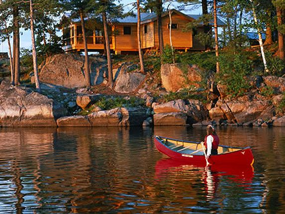 luxury ontario resorts french river cottage rentals couples rh pinterest com french river cottages for sale french river cottage resorts