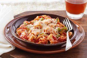 Pasta italiana al horno para cena de entresemana