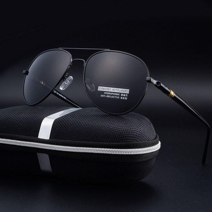 54d4da909f luxury mens polarized sunglasses brand designer men High quality UV400 fishing  sun glasses Gradient Driving mirror With boxA0012