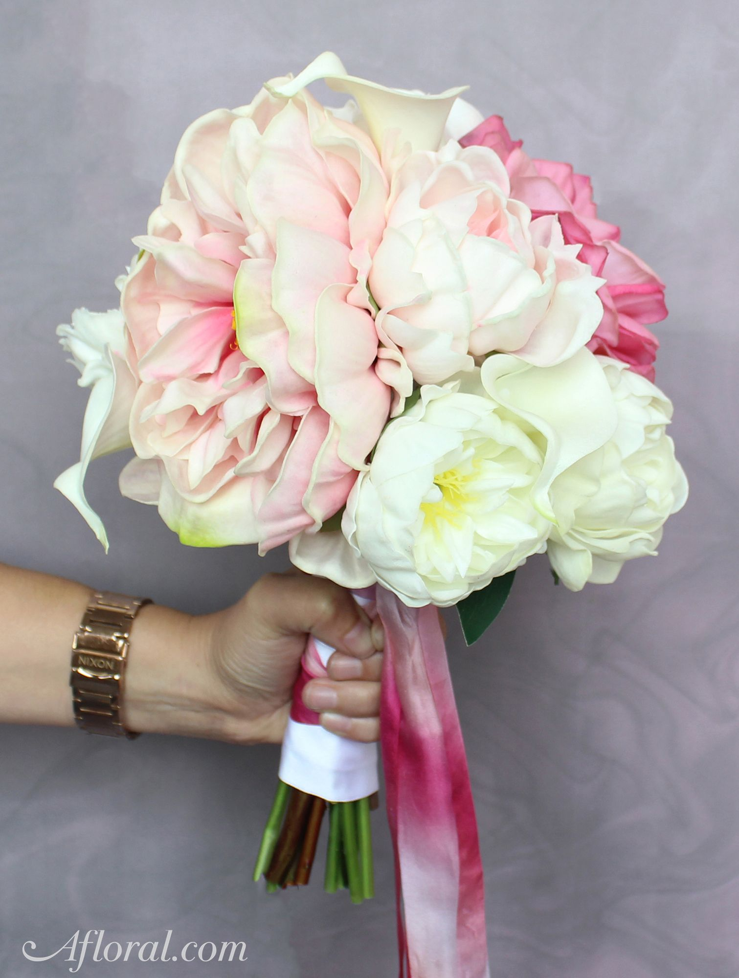 Fill your bridal bouquet with real touch flowers from afloral fill your bridal bouquet with real touch flowers from afloral and create a lasting izmirmasajfo