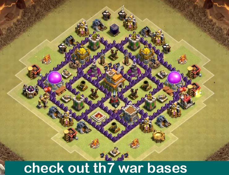 25 Best Th7 War Base Links 2020 New Anti 3 Stars Dragon Clash Of Clans Game Clash Of Clans Hack Clash Of Clans