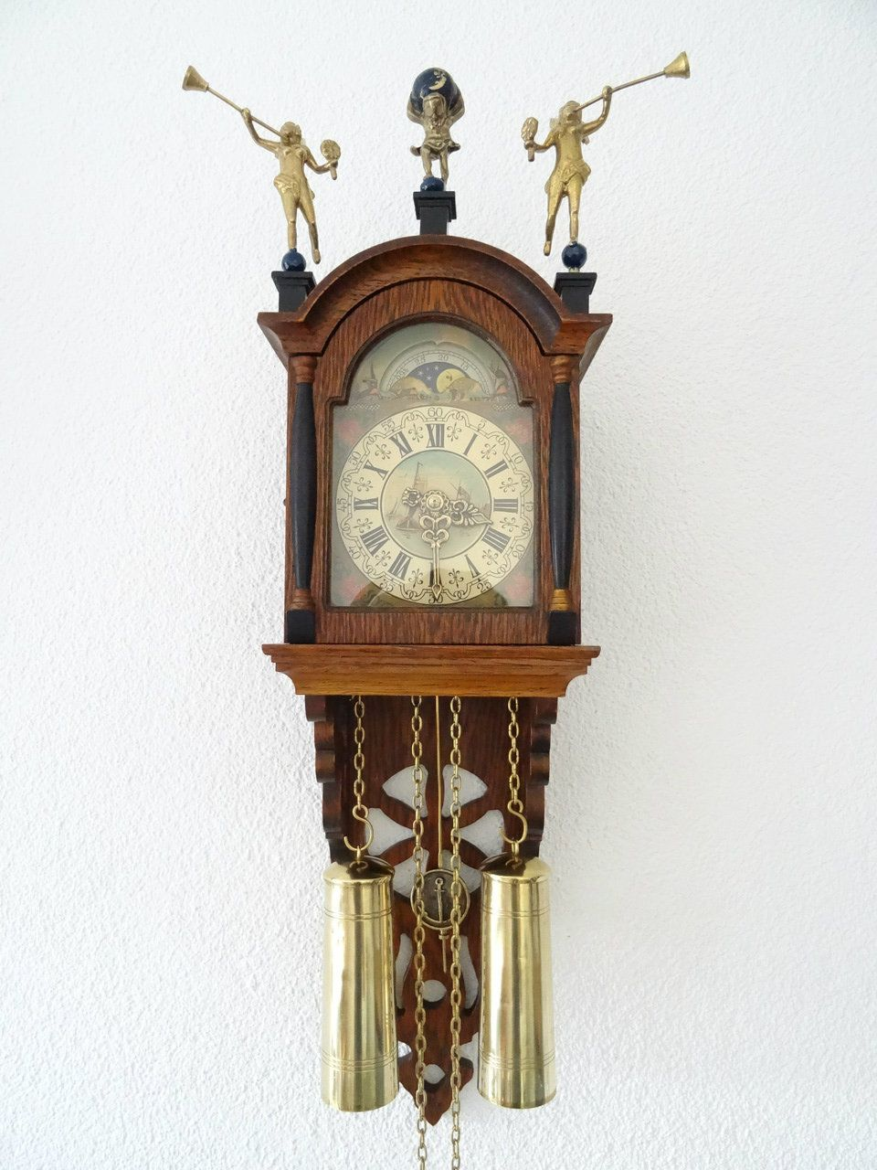 Dutch Warmink Friesian Wall Clock Schippertje
