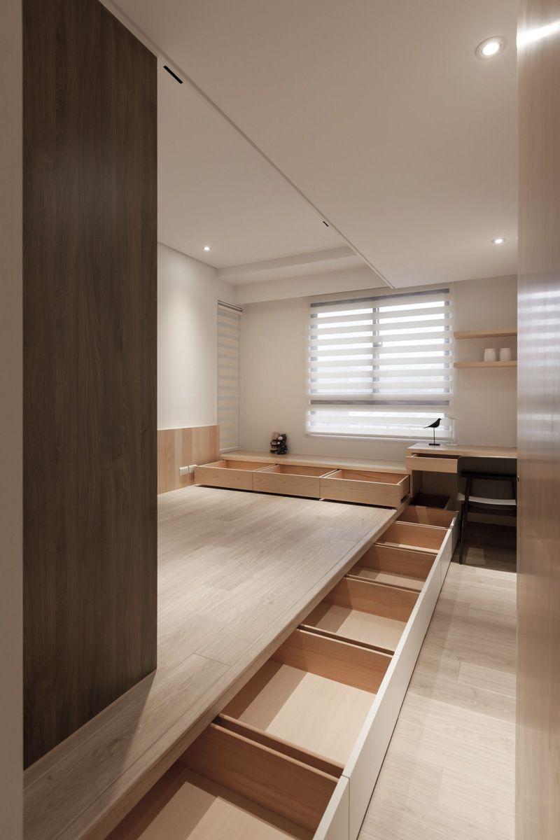 Cutaway Apartment Full Furnitures Modern Design: THE FAMILY'S INN On Behance