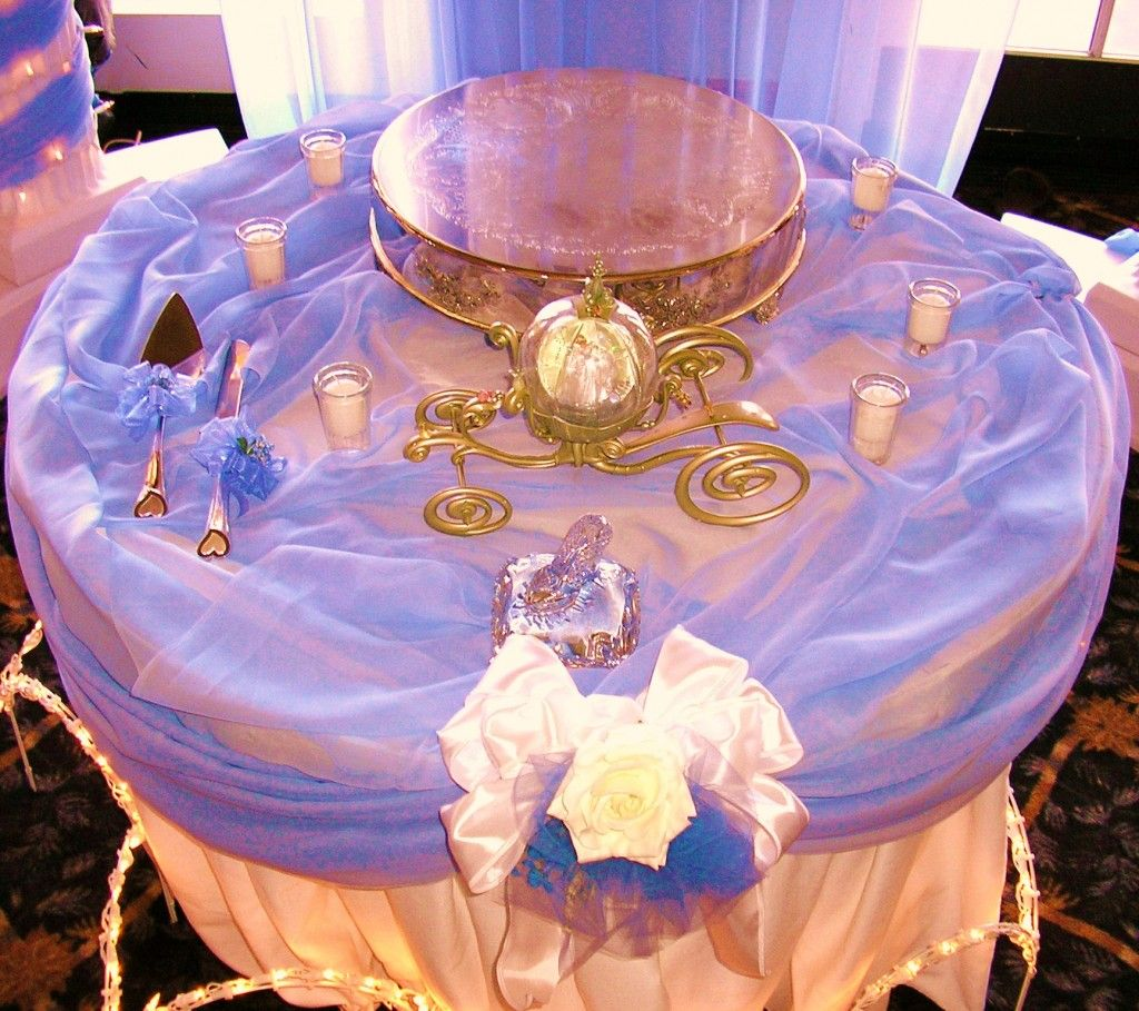 Cinderella Wedding Theme Ideas: Cinderella Tablescape