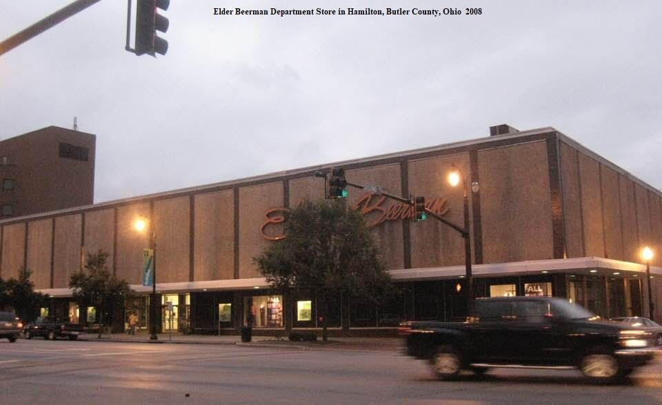 Elder-Beerman Department Store in 2008 in Hamilton, Ohio