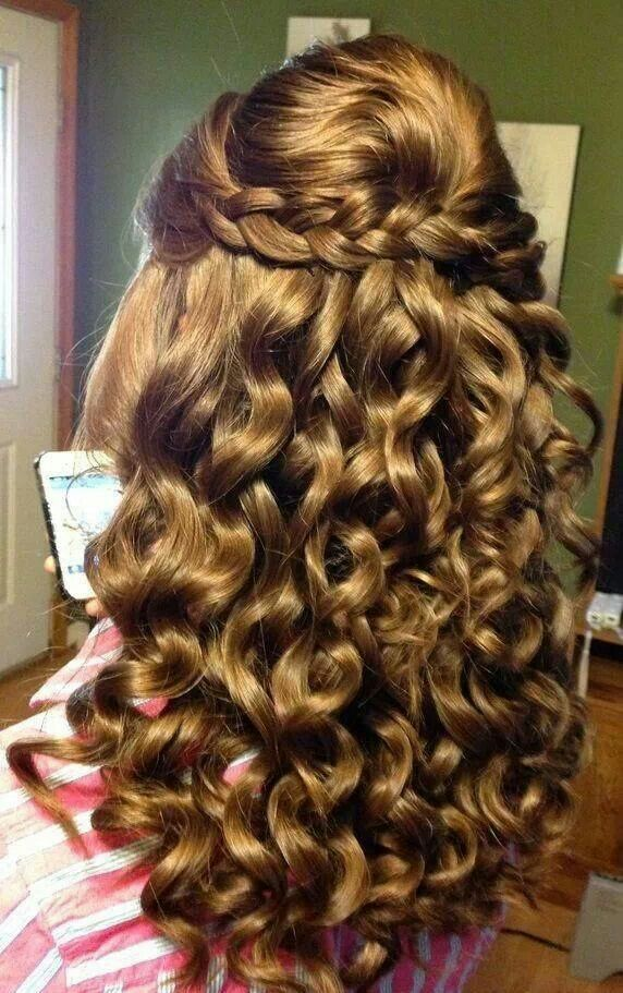 Beautiful curls   Curly prom hair, Curly homecoming hairstyles