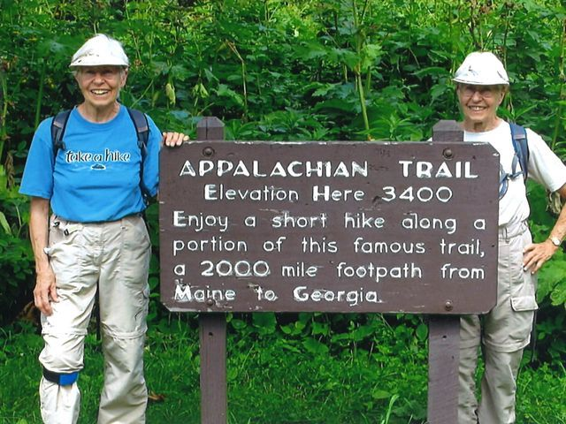 80-year-old twins complete Appalachian Trail