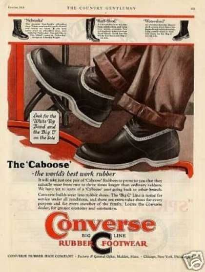 e2a6cc6361f260 Converse Rubber Footwear (1926)