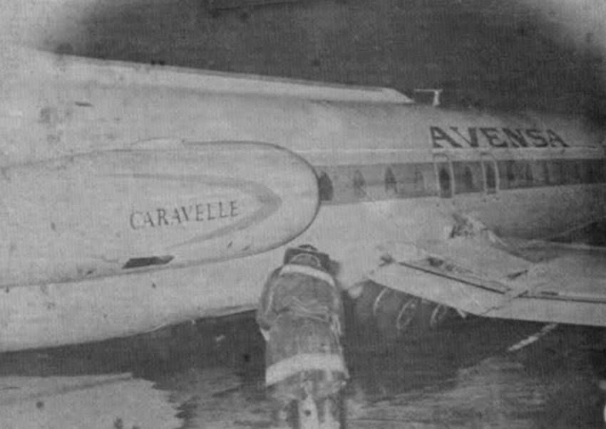 On August 13th 1964 the plane was bought by Avensa and registered YV-C-AVI and leased to VIASA/PIASA in June 1969 and returned to Avensa one year later. On 20 August 1973, YV-C-AVI made a hard landing causing the undercarriage to fail. The aircraft was written off and scrapped soon after.
