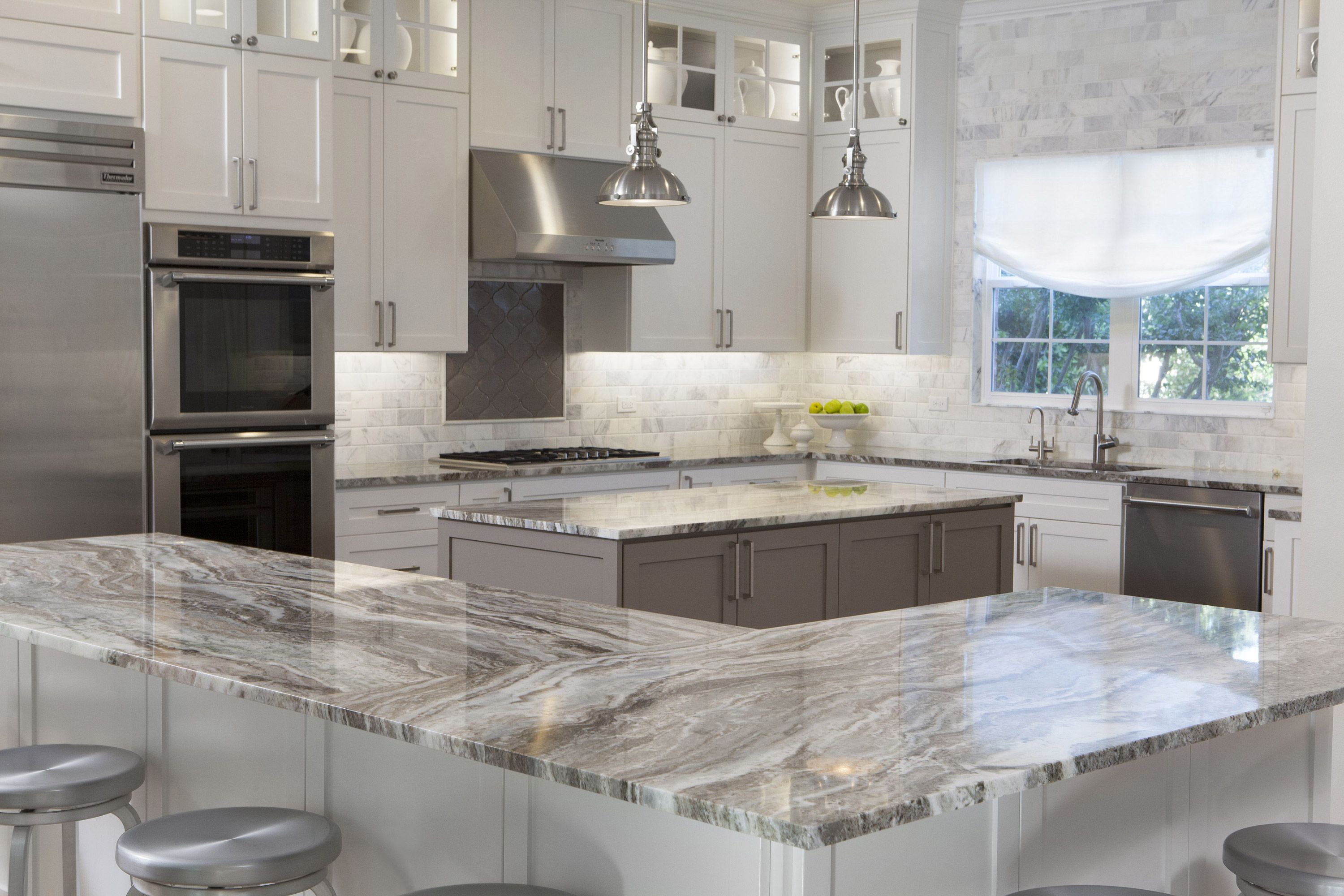 Gorgeous Sequoia Marble Countertops By Artisan Group Sequioa Is A Marble But A Very Hard Marbl Marble Countertops Kitchen Marbel Kitchen Kitchen Countertops