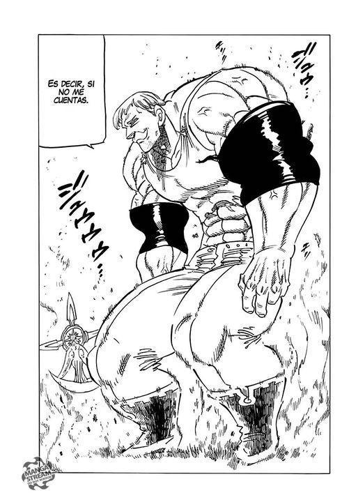 Meliodas vs Escanor (Manga) - Capitulo 231