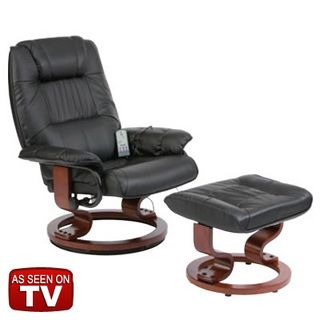 WiseLift EnduraLux Leather Riser Recliner Chair Dual Motor