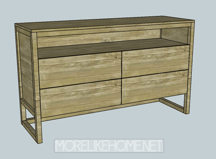 12 Free Diy Woodworking Plans For Building Your Own Dresser More Like Home S